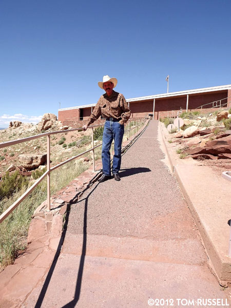 The Wizard of AZ at Meteor Crater